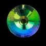 * ~ Regenbogen Kristall Kreis Perlmutt dunkel