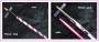 Acryl Pinsel - lang Gr. 8 oder pink Gr. 4 -