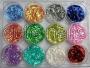 Confetti Flitter * starke Farben - color irisierend -