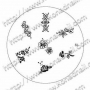 Stamping-Schablone S1 von KONAD