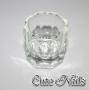 Dappen Dish * für Acryl Liquid * aus Glas