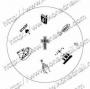 Stamping-Schablone S3 (jesus) von KONAD