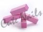 Buffer * pinky, Schleifblock, 4-seitig rosa