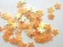 Blumen - peach - Farbe: Pfirsich / Aprikose