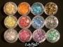 Glitter Flakes - Flitter Flocken irisierend