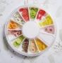 Fimo Früchte Mix * ca. 120 Teile im Rad
