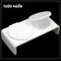 Acryl Liquid Holder - 2 Behälter - Set * Dappen Dish *
