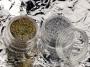 Glitterstaub Hologramm in Gold & Silber