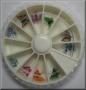 Butterfly   Nail Art Wheel   12 Fimo Schmetterlinge