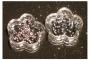 100 runde Straßsteine - rose - 1,7 mm