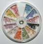 Fimo Blumen 3D im Rad | Flower Wheel * 12 Farben