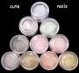 Acryl Glitterpuder - heiße Farben