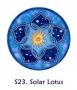 Fensterbild - Sonnen-Lotus
