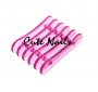 Pinselbank pink Glitzer