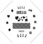 Stamping Schablone | HB Nr. 025 | Las Vegas