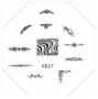 Stamping Schablone | HB Nr. 027 | Ornamente