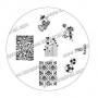 Stamping-Schablone m83 von KONAD
