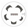 Stamping-Schablone m87 KONAD