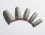 Airbrush Tips - Glitter Silber