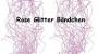 Glitter Bändchen Rose | Band