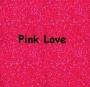 Glitterstaub Pink Love