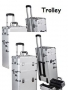 Koffer | Alu Trolley | mobil