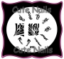Stampingschablone A18 - Ornamente - Blumen - Tribals