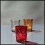 Votivglas | Kerzenhalter | Blumendesign