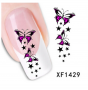 3D BUTTERFLY Sticker ONE STROKE Schmetterlinge 1429