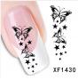 3D BUTTERFLY Sticker ONE STROKE Schmetterlinge 1430