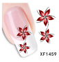 3D FLOWER Sticker ONE STROKE Blumen 1459