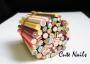 50 Candy  & Cakes Fimo Stangen | Süßigkeiten