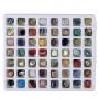 56 verschiedene Edelsteine in einer tollen Geschenkbox
