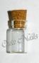 Bottles | MIDDLE leer | kleine Fläschchen KORK Verschluß
