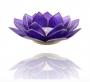 Chakra KERZENHALTER 6 Lotus Licht | Indigo Blume