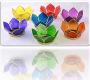 * ~ Chakra Lotus Kerzenhalter | 7 Farben wählbar 7 Chakren