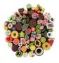 *~ Fimo Stangen | Canes | Slices | Obst Gemüse Wurst Fleisch