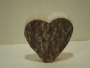 * ~ Herz aus Holz - Holzfigur - ca. 22 cm