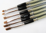 Pinsel für UV-Gel mit schwarzem Stil