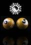 Qi Gong Kugeln - Yin Yang/Tai Chi gelb 35 mm