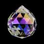Regenbogen Kristall Kugel Perlmutt
