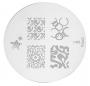 Stamping-Schablone m85 von KONAD