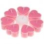 * ~  Herzförmige Teelichter Kirschblüte