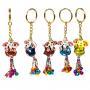 Schlüsselanhänger mit Ganesha und Glöckchen